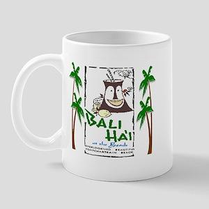 Bali Hai at the Beach Mug