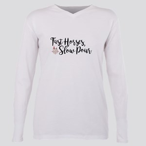 KY Derby 144 Fast Horses Plus Size Long Sleeve Tee