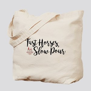 KY Derby 144 Fast Horses Tote Bag