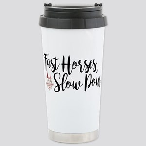 KY Derby 144 Fast 16 oz Stainless Steel Travel Mug