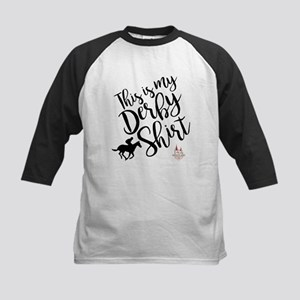 this is my ky derby 144 Kids Baseball Tee