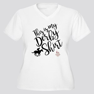 this is my ky der Women's Plus Size V-Neck T-Shirt