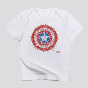 Captain America Shield Bling Infant T-Shirt
