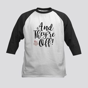 They're Off Derby 144 Kids Baseball Tee