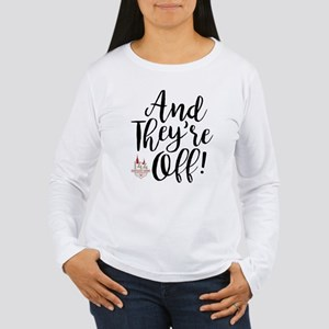 They're Off Derby 144 Women's Long Sleeve T-Shirt