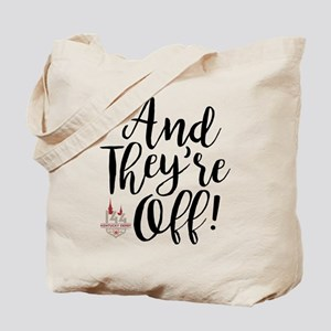 They're Off Derby 144 Tote Bag