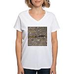 Banana Slug Women's V-Neck T-Shirt