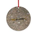 Banana Slug Ornament (Round)