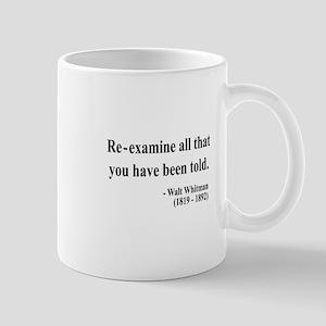 Walter Whitman 11 Mug
