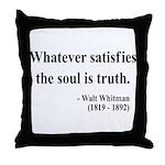 Walter Whitman 13 Throw Pillow