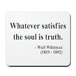 Walter Whitman 13 Mousepad