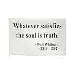 Walter Whitman 13 Rectangle Magnet (10 pack)