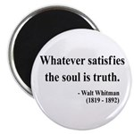 Walter Whitman 13 Magnet