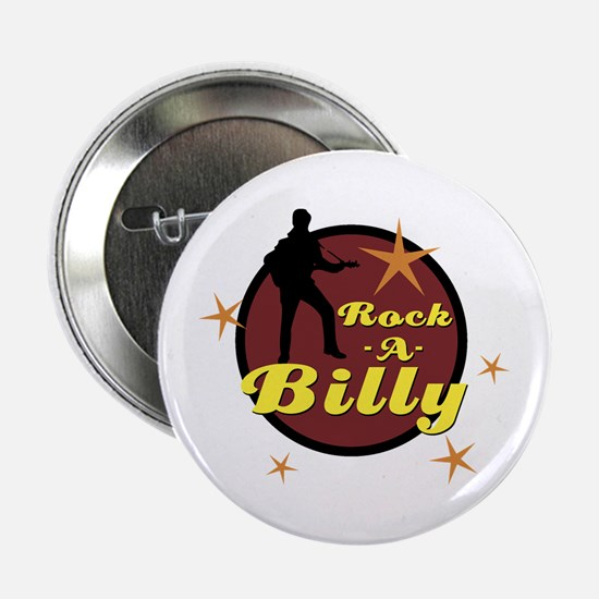 "ROCKABILLY 2.25"" Button"