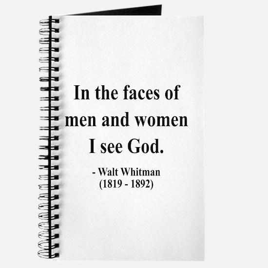 Walter Whitman 16 Journal