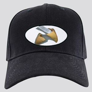 Good Fortune Cookie Black Cap