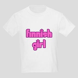 Finnish Girl Cute Kids Light T-Shirt