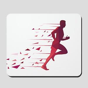 Running man Mousepad