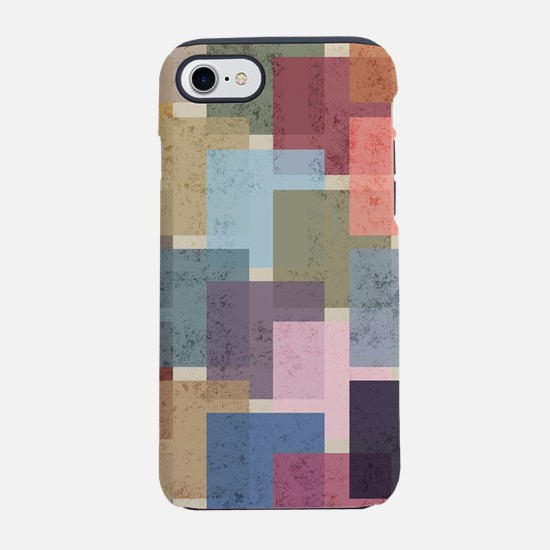 Mid Century Modern Squares iPhone 8/7 Tough Case