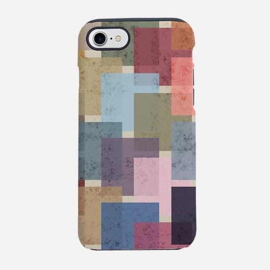 Mid Century Modern Squares iPhone 8/7 Tough Case
