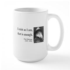 Walter Whitman 18 Large Mug