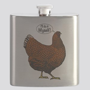Little Red Hen Flask