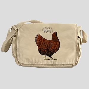 Little Red Hen Messenger Bag