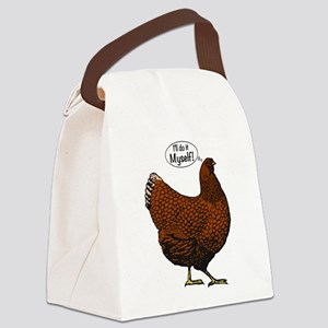 Little Red Hen Canvas Lunch Bag