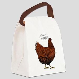 Little Red Hen Canvas Lunch Bag
