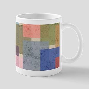 Mid Century Modern Squares Mugs