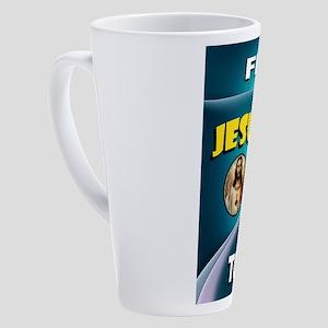 JESUS HEART 17 oz Latte Mug