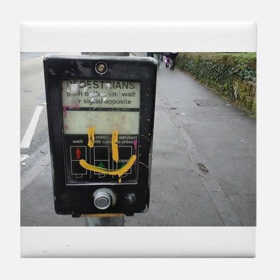 pedestrian crossing Tile Coaster