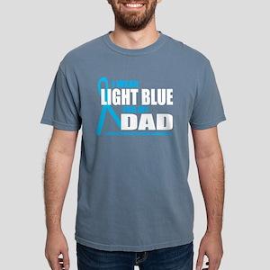 Lt Blue For Dad Women's Dark T-Shirt