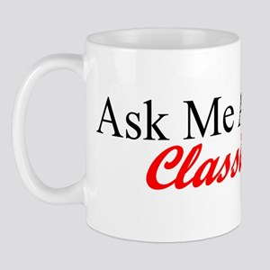 """Ask About My Dart"" Mug"