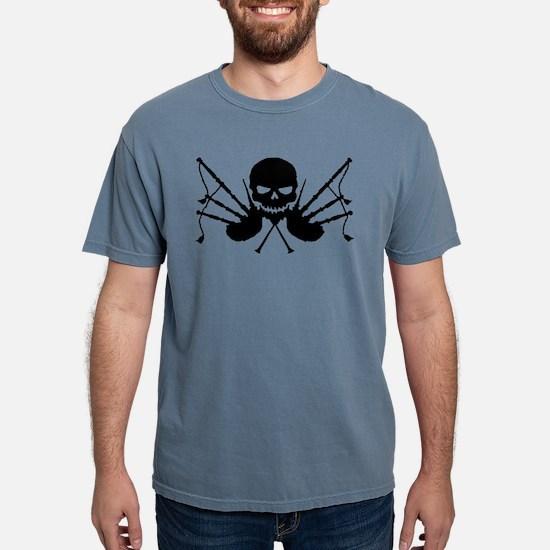 Skull & Crossdrones, Black T-Shirt