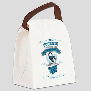 I'm a Scorpio Canvas Lunch Bag