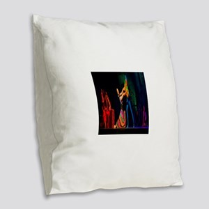 Don Quixote Dancers Burlap Throw Pillow
