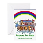 Prayers For Pets Greeting Card