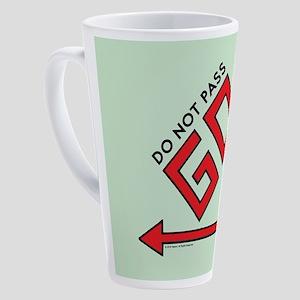Monopoly - Do Not Pass Go 17 oz Latte Mug
