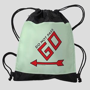 Monopoly - Do Not Pass Go Drawstring Bag