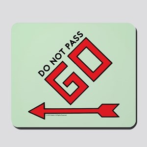 Monopoly - Do Not Pass Go Mousepad