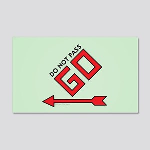Monopoly - Do Not Pass Go 20x12 Wall Decal