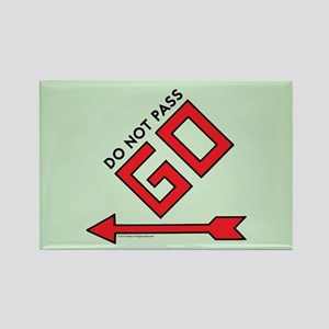 Monopoly - Do Not Pass Go Rectangle Magnet