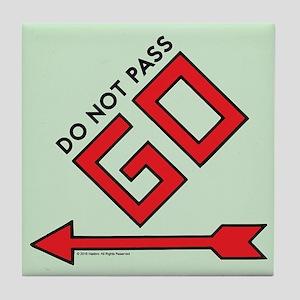 Monopoly - Do Not Pass Go Tile Coaster