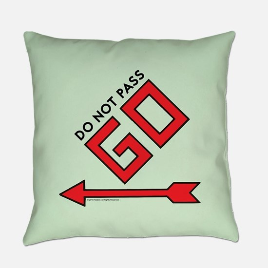 Monopoly - Do Not Pass Go Everyday Pillow