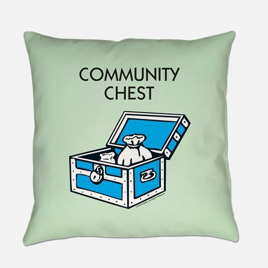 Monopoly - Community Chest Everyday Pillow