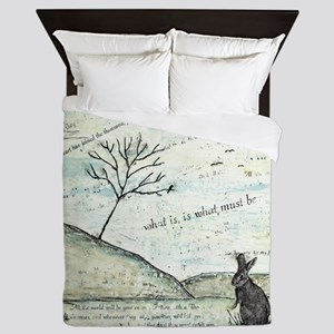 Watership Down Encaustic Queen Duvet