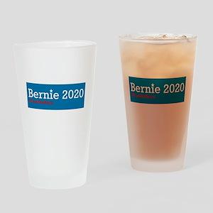 Bernie 2020 Drinking Glass