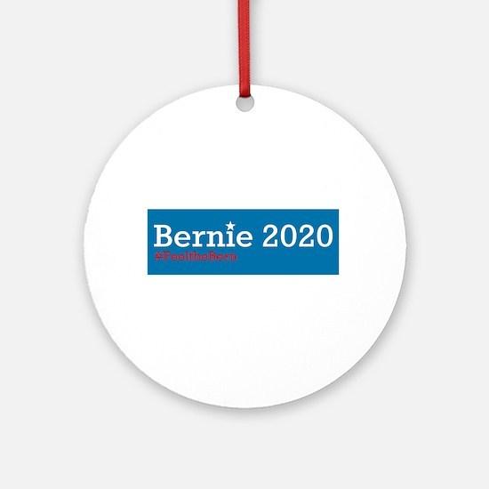 Bernie 2020 Round Ornament