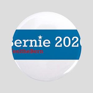 """Bernie 2020 3.5"""" Button"""